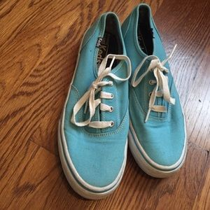 Keds Shoes - Bright Blue Lace Up Keds *WORN ONCE*