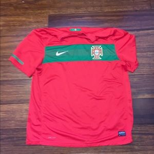Dry fit soccer jersey