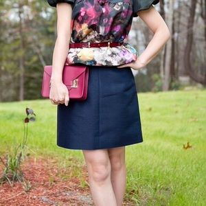 J. Crew Collection A-Line Skirt
