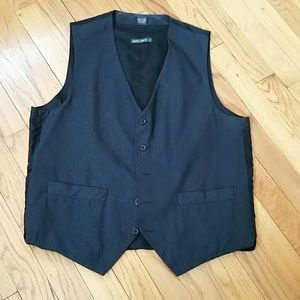 Point Zero Jackets & Blazers - Menswear Style  Pinstripe Vest with Pockets NWOT