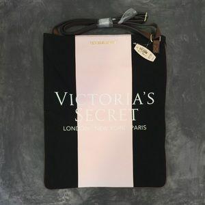 Victoria's Secret Handbags - Victoria's Secret Pink + Black Tote Bag