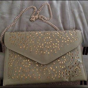 Handbags - Cutout Clutch