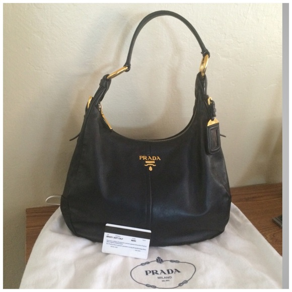 Prada Open Tote Vitello Daino Small Y6No6H