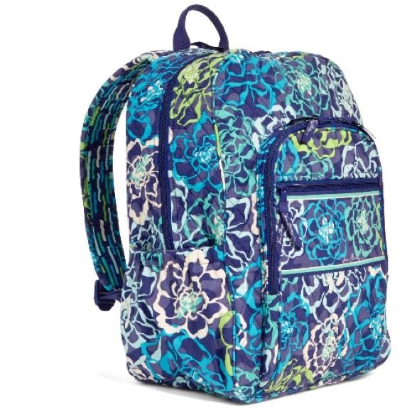 0fd09f4f3 Vera Bradley Bags | Campus Backpack Katalina Blues | Poshmark