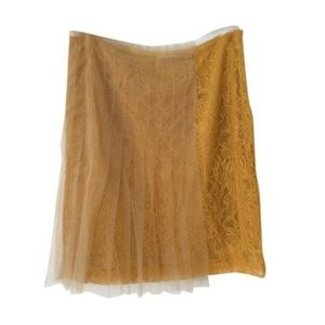 Rodarte Dresses & Skirts - RODARTE for Targer Mustard Skirt