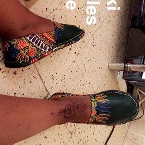 Shoes - African dashiki Espadrilles