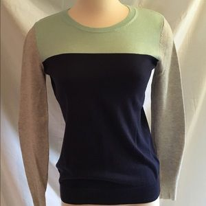 Color Block Light Sweater. Great Colors!!