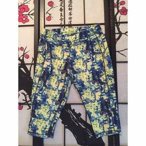 tek gear Pants - Tek Gear Tie Dye Cropped Work Out Leggings