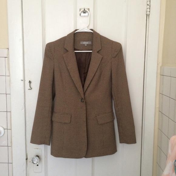 49% Off Etam Jackets U0026 Blazers - Ethan Brown Blazer With ...