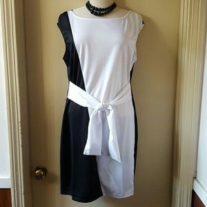 Dresses & Skirts - Black and white ..