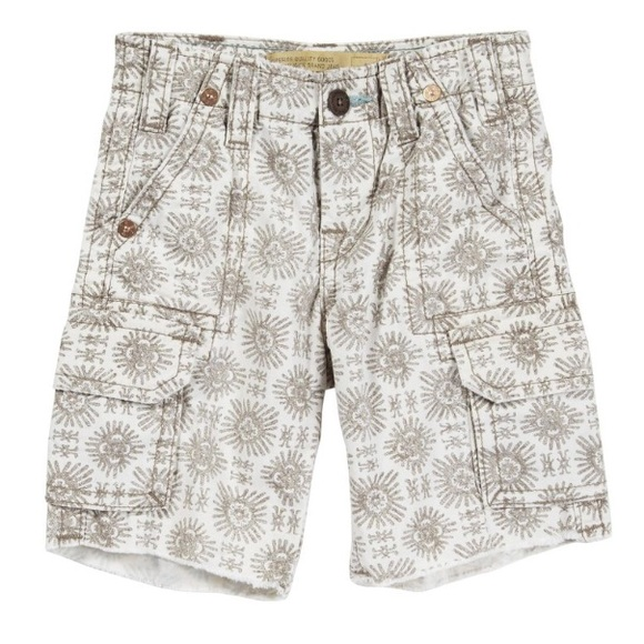 True religion khaki cargo shorts