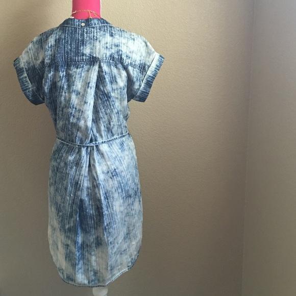 Anthropologie Dresses - Cloth & Stone Chambray Shirt Dress
