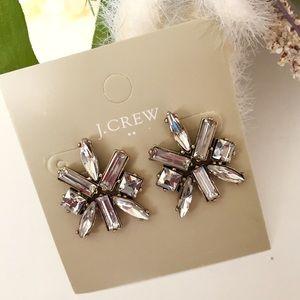 J. Crew Crystal Clusters Earrings
