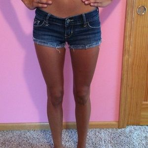 Low rise shorts from Hollister