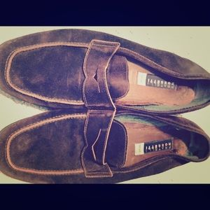 Fratelli Rossetti Other - Men's Fratelli Rossetti brown suede yacht shoes 8