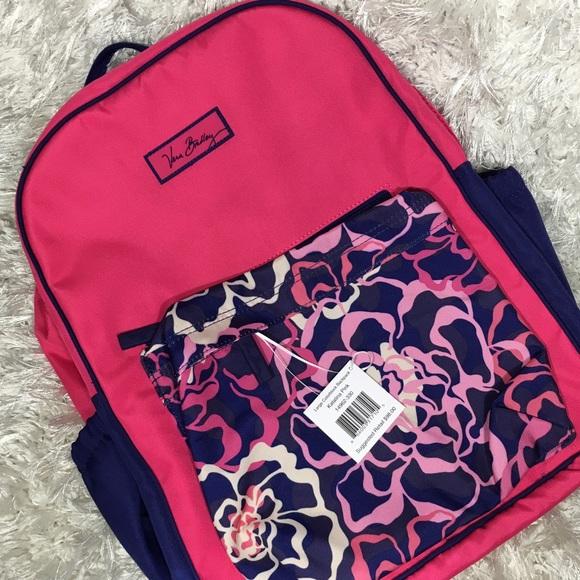 64c45de9db62 SALE! Vera Bradley Large Colorblock Backpack