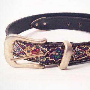  Vintage Metallic Bollywood Belt
