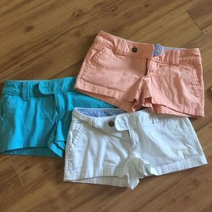Bundle of 3 pair of size 5 Red Camel shorts