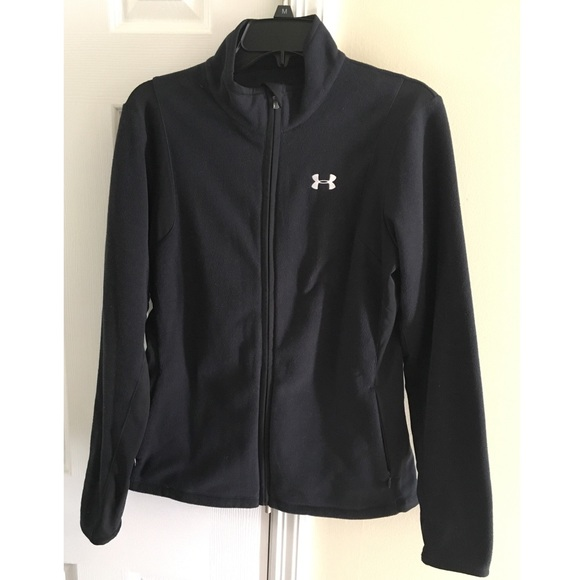 under armor zip up jacket
