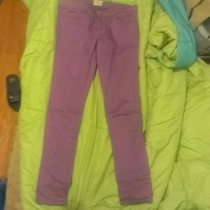 Aeropostale Ashley Ultra Skinny Jeans Lilac