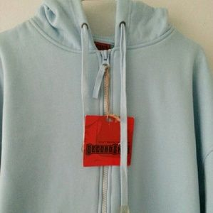 SecondSkin Tops - Plus Size Light Blue Sweater