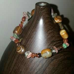 Jewelry - Bracelet with Jasper Crystal Tigra
