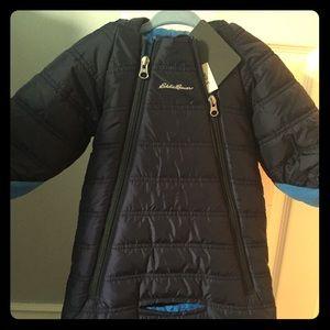 Brand new!! Eddie Bauer bunting snow suit!