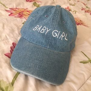 240bff6d6b973 Thugave Accessories - NWOT THUG AVE Baby Girl Hat (Dad Hat)
