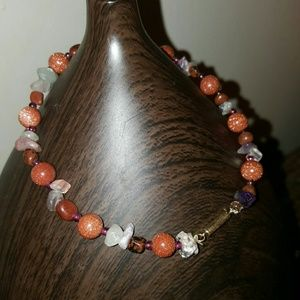 Jewelry - Genuine gemstone anklets