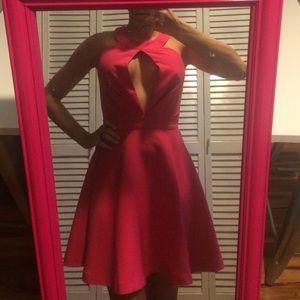 NWT Sexy pink dress