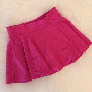 Justice Other - Pink Justice Skater Skirt