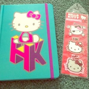 Accessories - HK bookmarks and journal