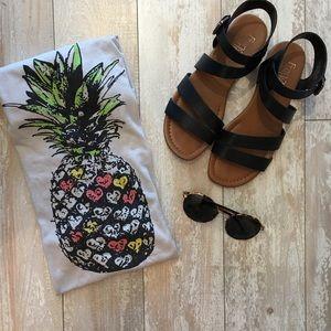 Fifth Sun Tops - Pineapple graphic tee