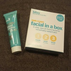 Bliss Other - Bliss triple oxygen 'facial in a box' & hand cream