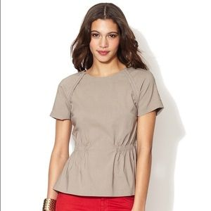 """Walter Baker Tops - Walter """"Bennett"""" Top in Taupe, Size S"""