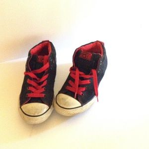Converse Other - Red Black CHUCK TAYLOR CONVERSE Shoes Boys