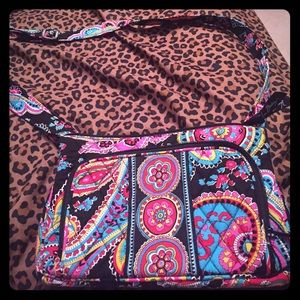 BRAND NEW Vera Bradley little hipster cross body!