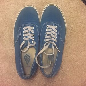 Vans Blue Sz 9