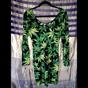 420 Bodycon Party Dress