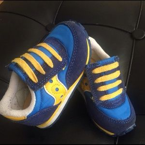 Saucony Other - Blue and yellow Saucony