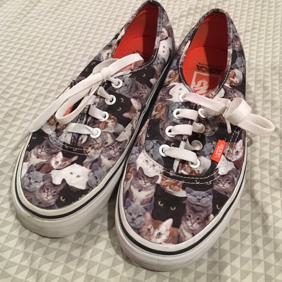 cat vans shoes