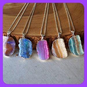Function & Fringe Jewelry - 🎉HP 12/6🎉Druzy Pendant Necklaces!