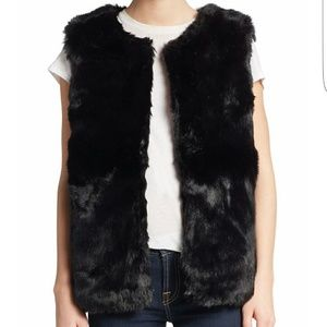 Cara Couture Jackets & Blazers - OFFER $10 LESS!! Cara Faux Fur Open Front Vest