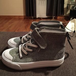 Other - High top canvas sneakers