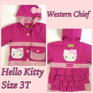 """Western Chief Other - ✨ SALE ✨Western Chief """"Hello Kitty"""" ☂Raincoat☂"""