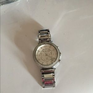 Michael Kors watch with extra links and box
