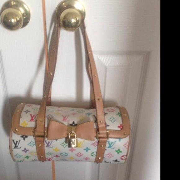43751573a0d3 Louis Vuitton Handbags - LV Multi Color Barrel Bag