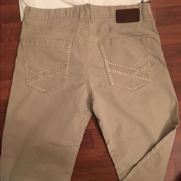 later outlet store provide large selection of Buckle BKE Jake men's khaki pants