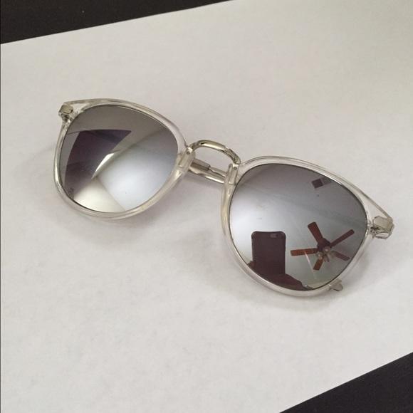 A. J. Morgan Accessories   A J Morgan Clear Frame Mirrored ...