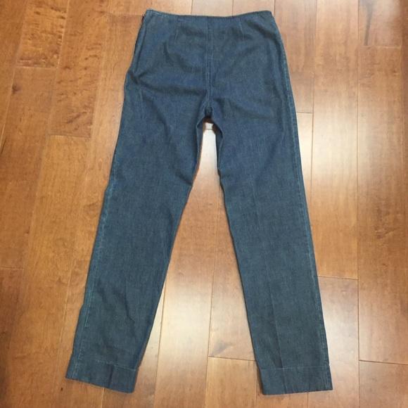chanel jeans. chanel jeans (original) vintage size 40/6 us f